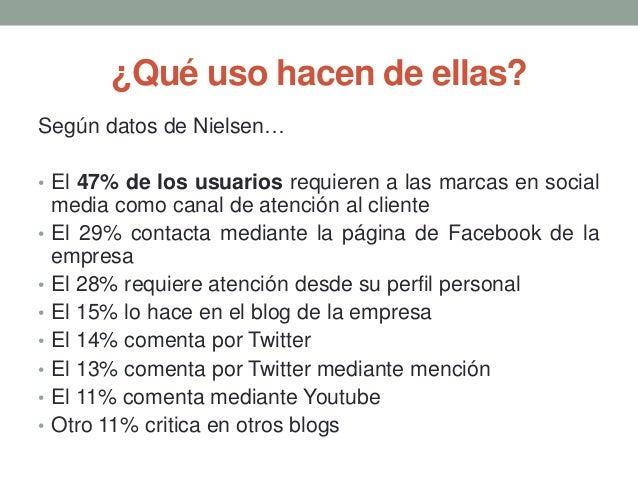 Atencion al cliente en redes sociales for Atencion al cliente