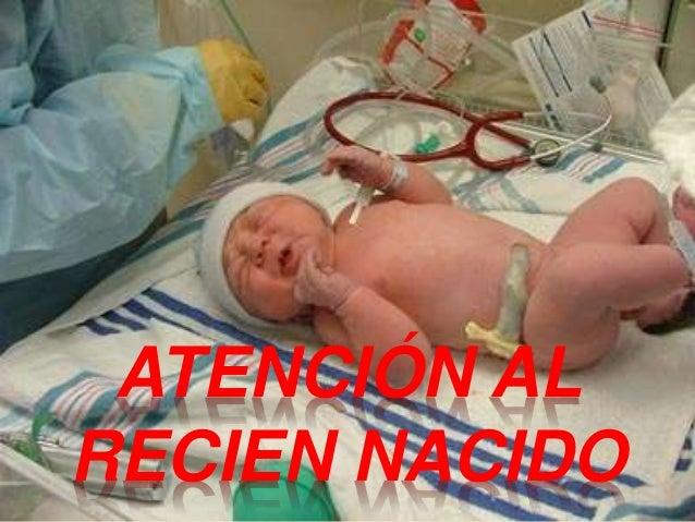 ATENCIÓN AL RECIEN NACIDO