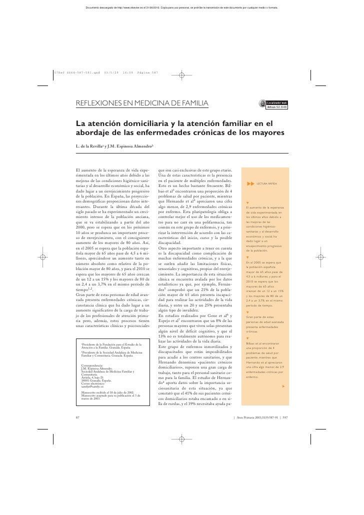 REFLEXIONES EN MEDICINA DE FAMILIA                                                                                        ...