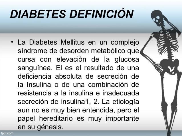 Atención odontologica en el paciente con diabetes mellitus