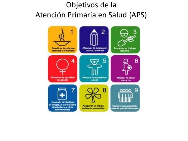 Objetivos de laAtención Primaria en Salud (APS)