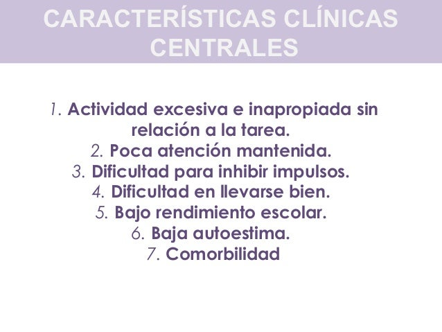 COMORBILIDADPresencia concomitante de otros trastornos 1) Abuso y dependencia de sustancias. 2) Trastornos de la conducta ...