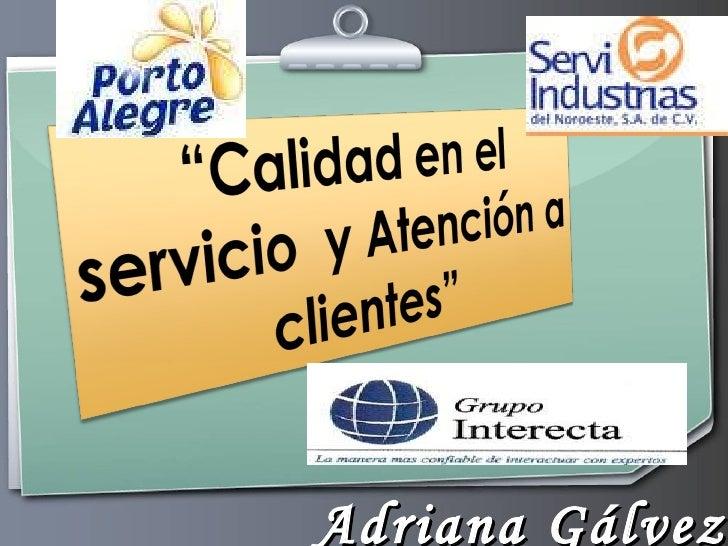 Adriana Gálvez