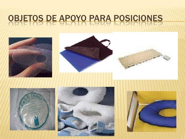 OBJETOS DE APOYO PARA POSICIONES<br />