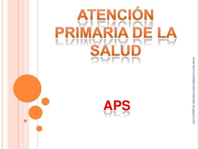 www.tecnicodelaboratoriodental.blogspot.com                           APS