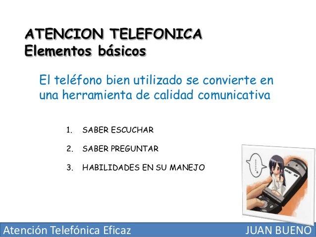 Atencion telefonica eficaz
