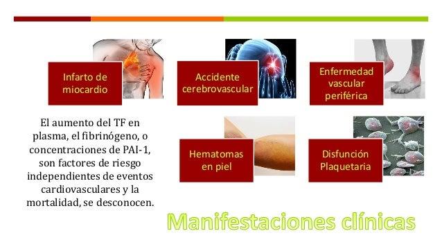 Enfermedad Renal Cronica y hemostasia