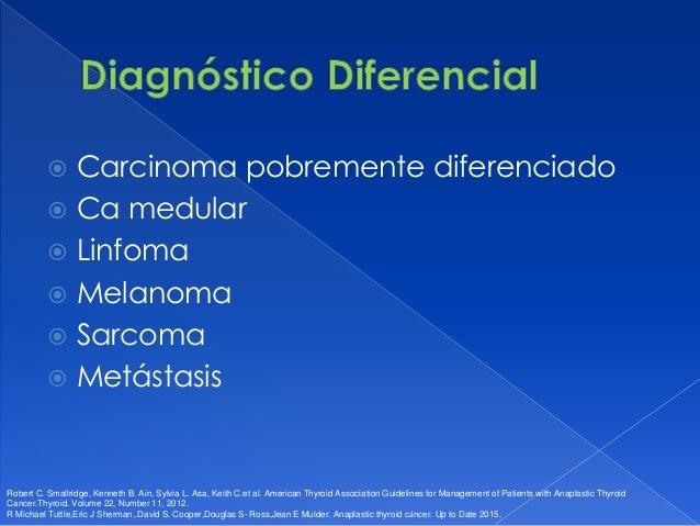  Tiroidectomía total o subtotal + vaciamiento central y lateral.  Resección en bloc (si invasión extratiroidea).  Lobec...