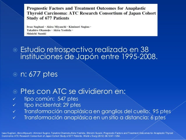 Ateneo carcinoma anaplasico 28 de julio
