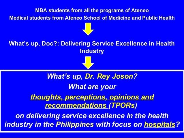 Delivering Service Excellence in Health Industry Slide 2