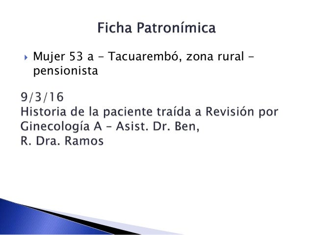  Mujer 53 a - Tacuarembó, zona rural - pensionista