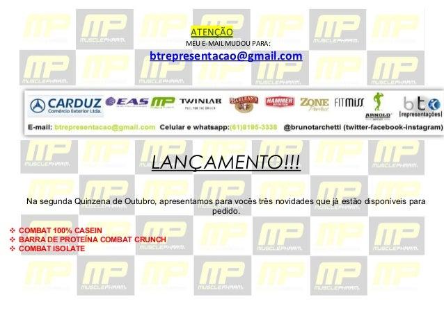 ATENÇÃO  MEU E-MAIL MUDOU PARA:  btrepresentacao@gmail.com  LANÇAMENTO!!!  Na segunda Quinzena de Outubro, apresentamos pa...