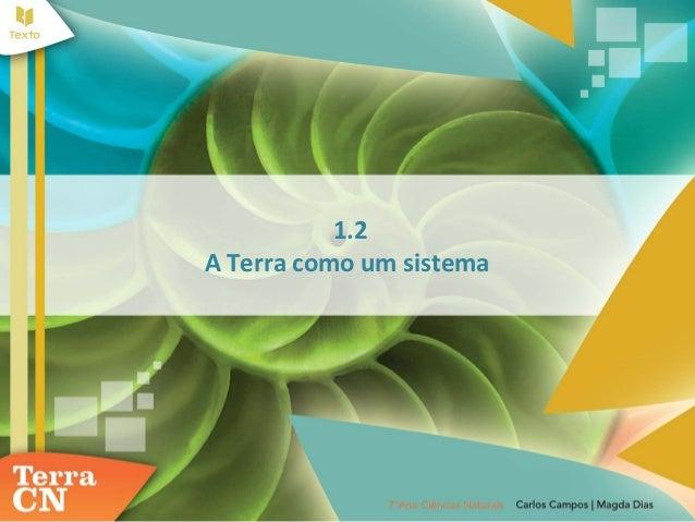 1.2A Terra como um sistema
