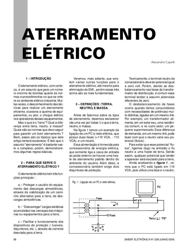 ATERRAMENTO       ELÉTRICO                                                                                                ...