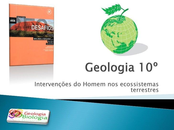 A terra, um planeta único a proteger (introdução à geologia 11)