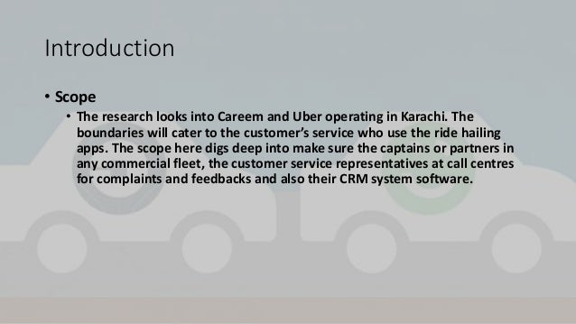 A Test of Service Quality #Careem Versus #Uber