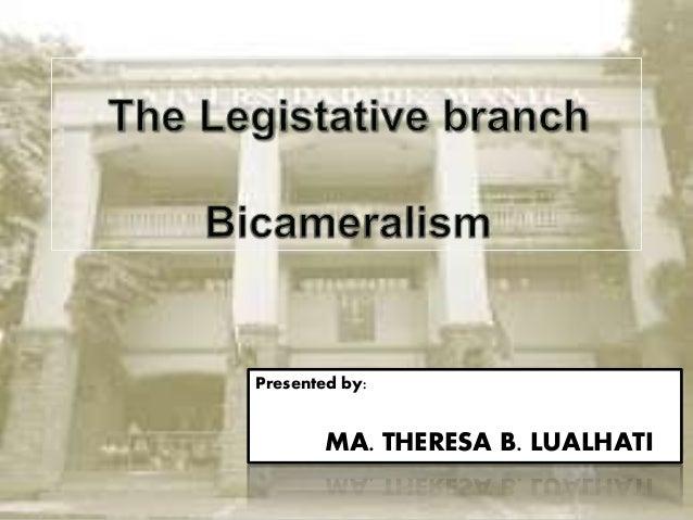 Presented by: MA. THERESA B. LUALHATI