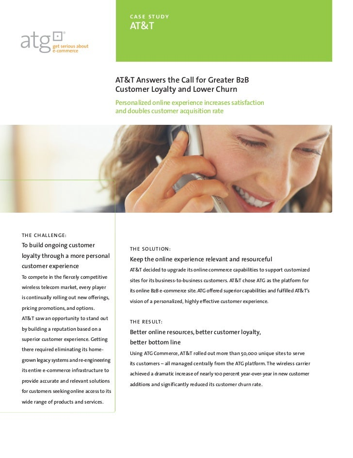 case study                                                  AT&T                                             AT&T Answers ...