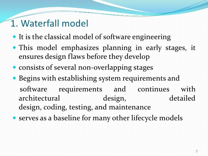 Software Engg Process Models