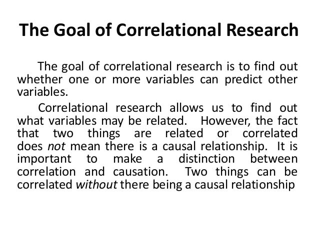 Calculating the Correlation