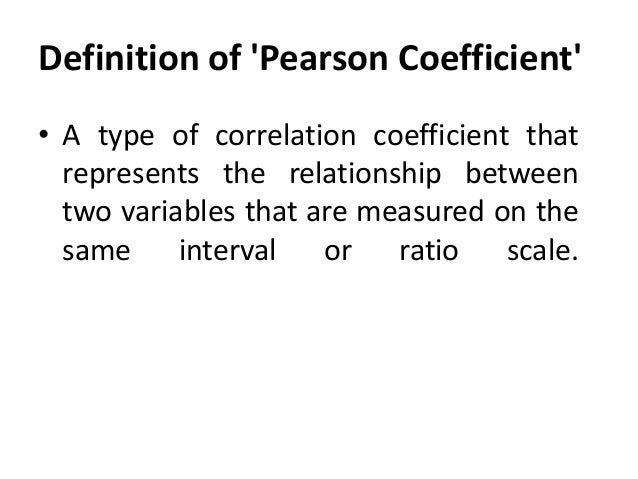 Correlation and dependence - Wikipedia