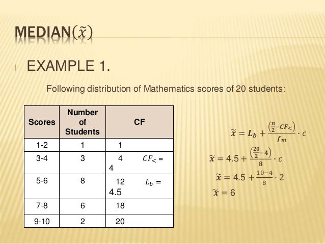 Numerical Method In Statistics Mean And Median