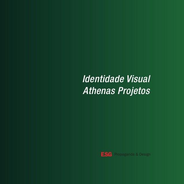 Identidade Visual Athenas Projetos