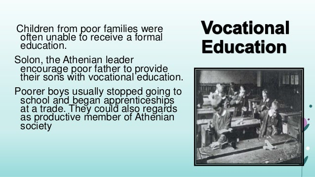How did athenians educate their children