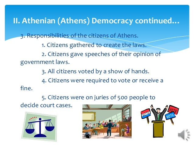 ancient democracy to present democracy essay The limitations in greek citizenship and democracy essays according to most  present-day historians that focus on the political and social realms of ancient.
