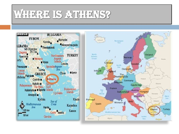 Athens - Where is athens