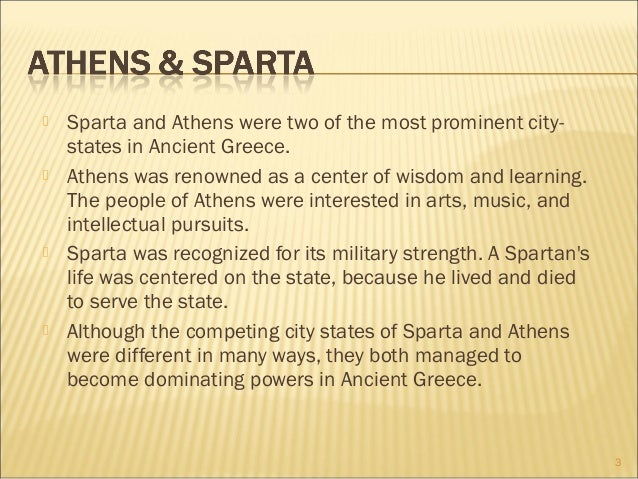 an analysis and a comparison of the two city states in greece athens and sparta Building background two of the greatest city-states in greece were sparta and athens compare and contrast athens and sparta of athens and sparta analysis.