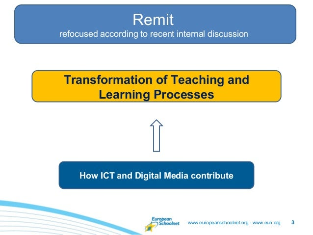 Staff meeting – 26/05/2011                  Remitrefocused according to recent internal discussion Transformation of Teach...