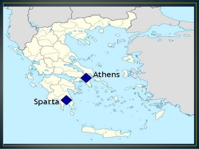 an introduction to the comparison of athens and sparta Ancient greek warfare  the 2nd peloponnesian war between athens and sparta (the delian league and the peloponnesian league) which involved all of greece.