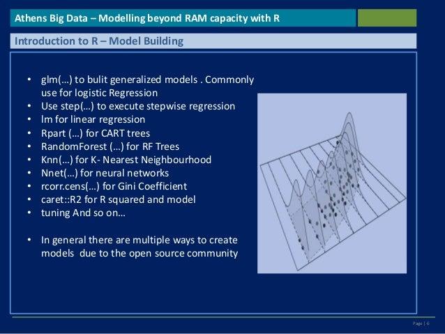 Analytics Beyond RAM Capacity using R