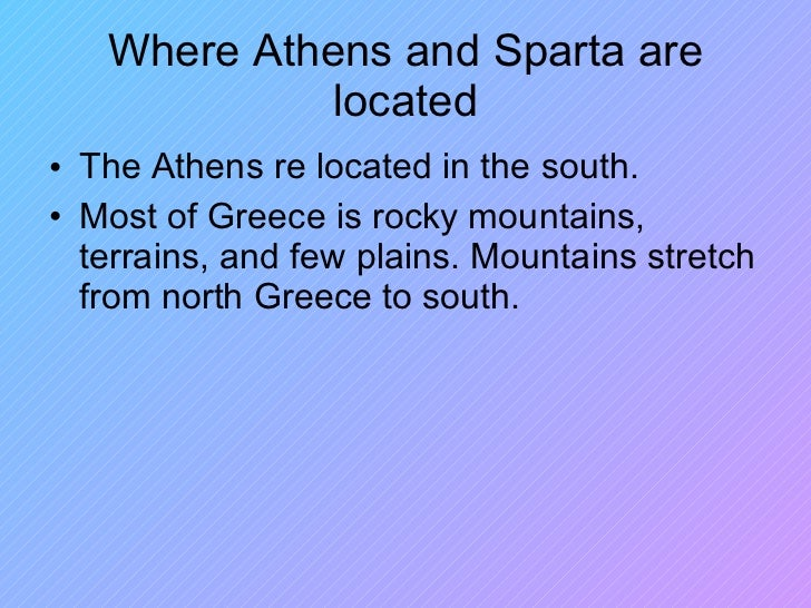 sparta is better than athens essay Athenian women and sparta womens lives history essay print sparta society is much better than athens for women because women had almost equally rights to men like women had the if you are the original writer of this essay and no longer wish to have the essay published on the uk.