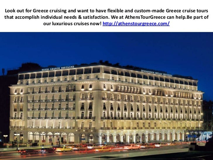 Look out for Greece cruising and want to have flexible and custom-made Greece cruise tours that accomplish individual need...