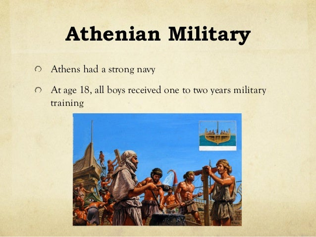 Ancient Athens Military