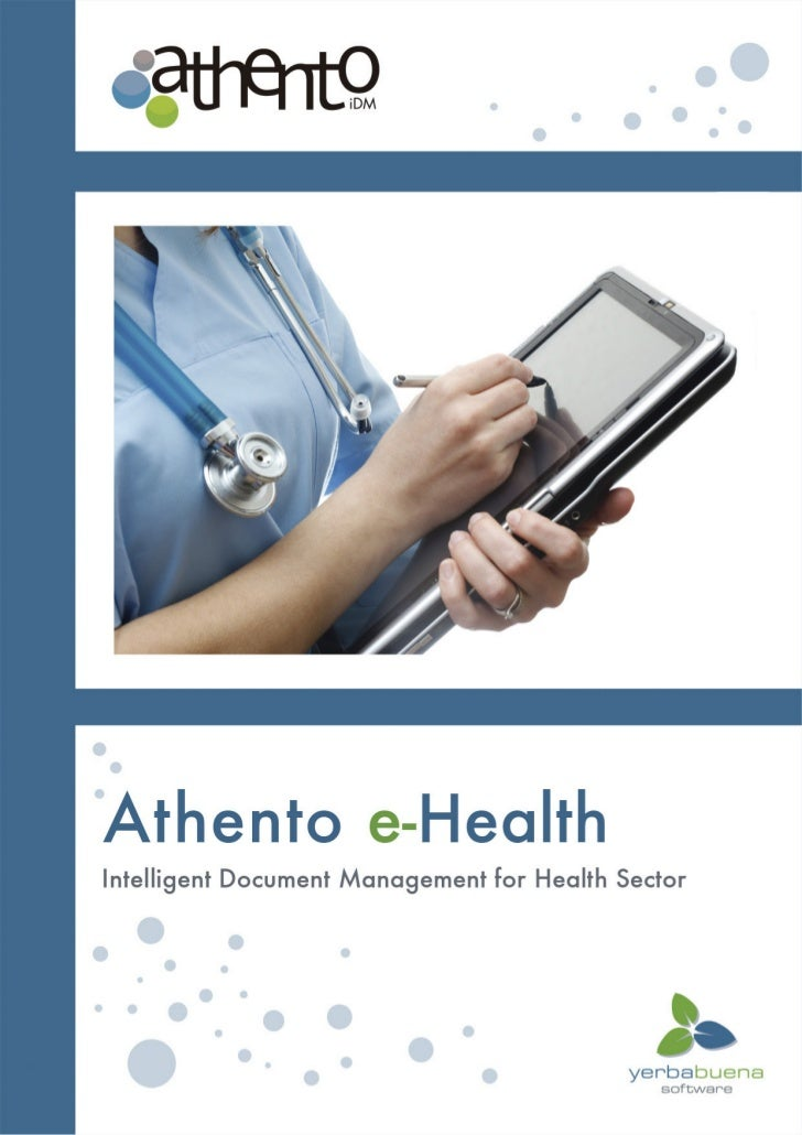 Why use a document management system in the health sector?The role of people working in health institutions is toensure th...