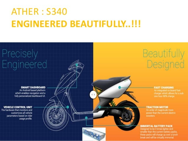 Ather s340 Electroc Scooter