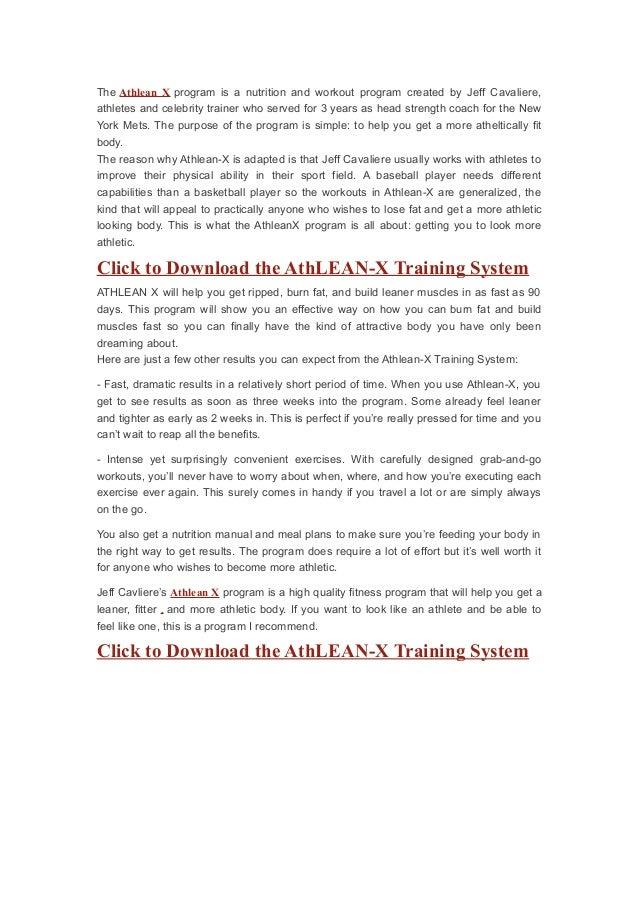 athlean xero pdf free download
