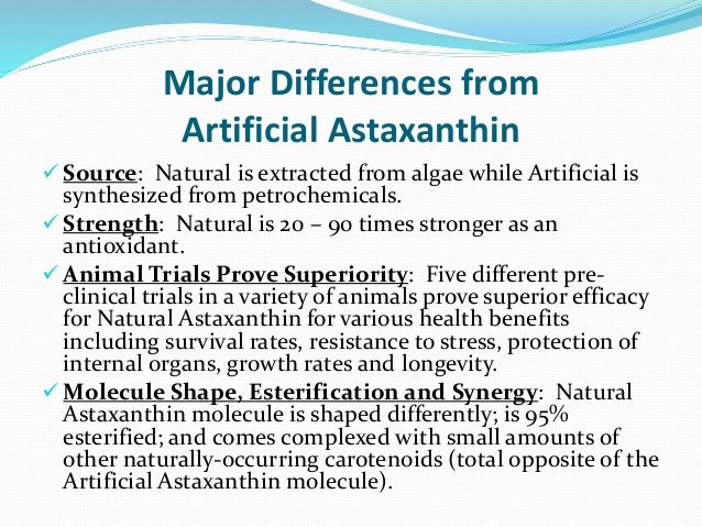 Best Source Of Astaxanthin Naturally In It