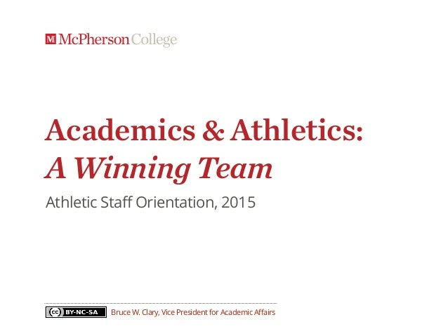 Academics & Athletics: