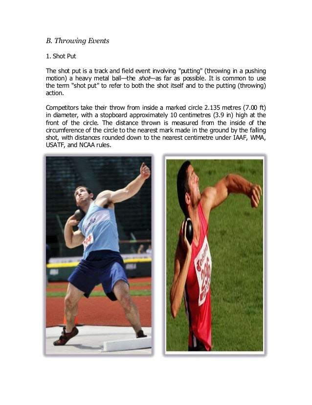 a description of the athletic event of hammer throw as a metal ball attached to a wire and handle Hammer throw illustration, colombia hammer throw is an athletic throwing event  the goal of it is to throw a heavy metal ball attached to a wire and handle.