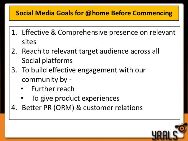At home Social Media Case Study and Strategy Slide 3
