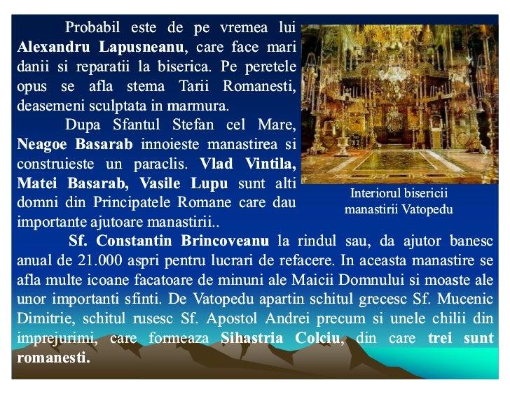Probabil este de pe vremea luiAlexandru Lapusneanu, care face mari             Lapusneanu,danii si reparatii la biserica. ...