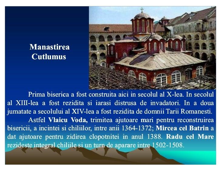 Manastirea        Cutlumus        Prima biserica a fost construita aici in secolul al X-lea. In secolul                   ...