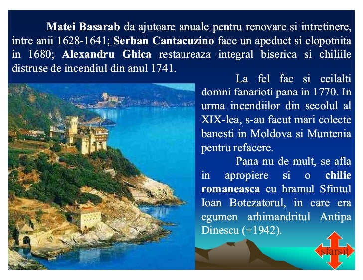 Matei Basarab da ajutoare anuale pentru renovare si intretinere,intre anii 1628-1641; Serban Cantacuzino face un apeduct s...