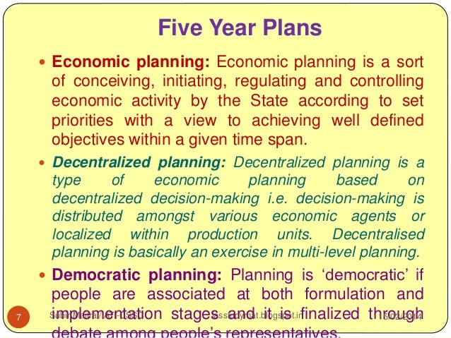 8 Advantages of Decentralized Planning Mechanism in India