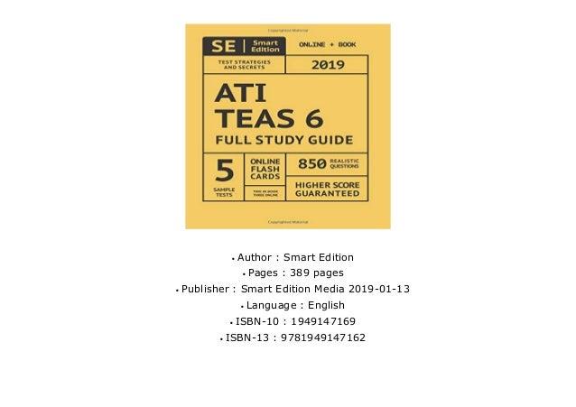 full download ATI TEAS 6 Full Study Guide: TEAS 6 Study
