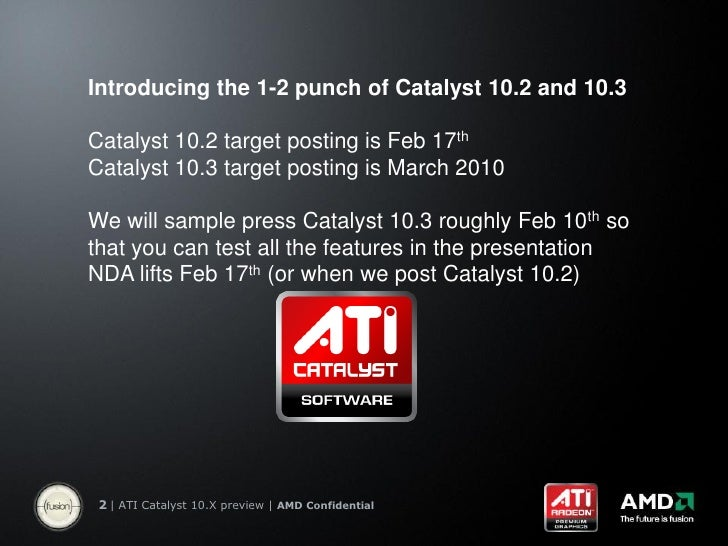 Amd ati catalyst 10.2 by dj evreux